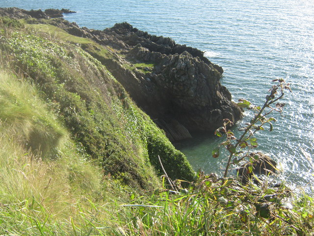 The Lick from the coastal path