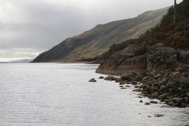Rocky Coastline, Loch Linnhe
