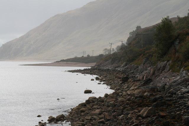 Coastline of Loch Linnhe