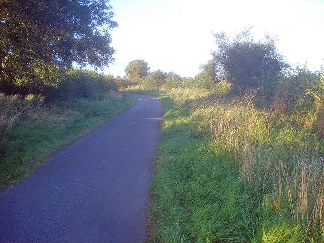 Bend in Stordon Lane