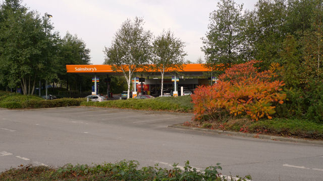 Filling Station at Cheadle Royal