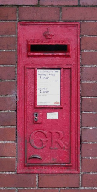 GR Postbox, Pickering