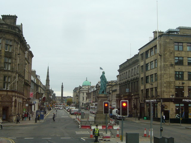 George Street from a No.16 bus