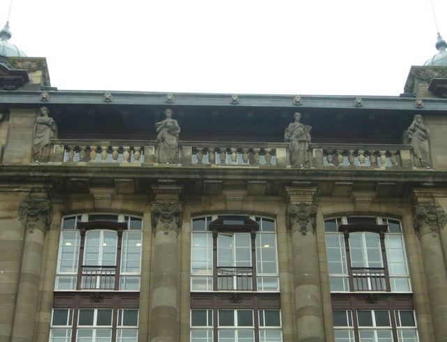 Insurance building caryatids, George Street