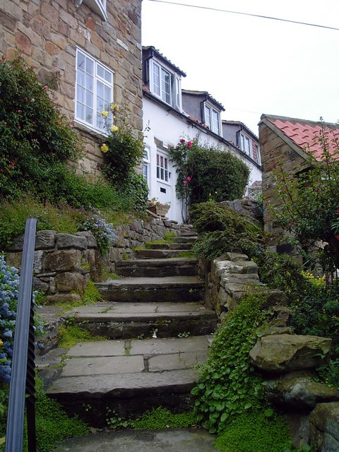 Cottages, Runswick Bay
