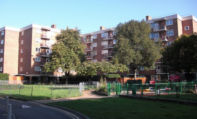 Ainsty Estate (part), Rotherhithe, London, SE16