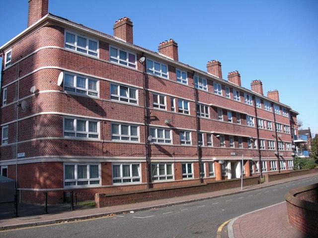 Aylton Estate (part), Rotherhithe, London, SE16