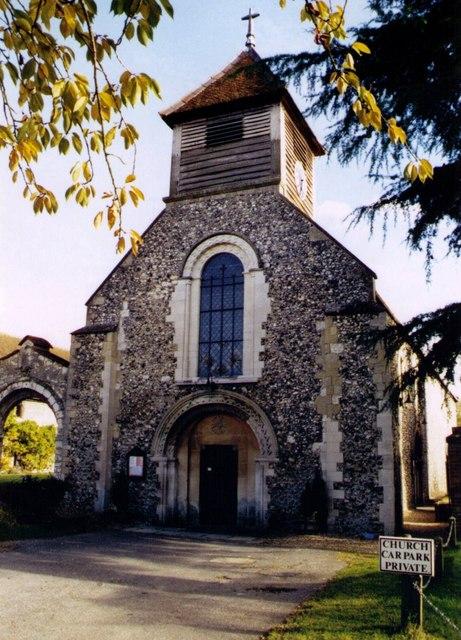 St Mary, Hurley