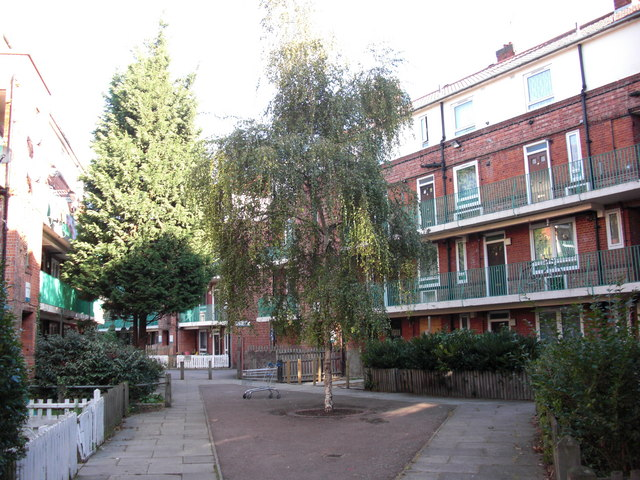 Irwell Estate (part), Neptune Street, London, SE16