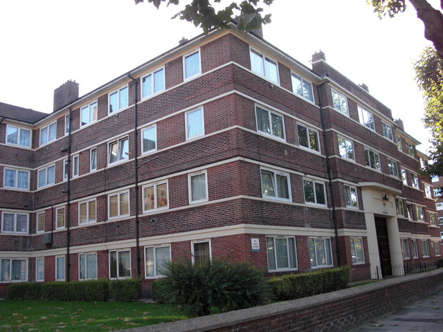 Kirby Estate, Southwark Park Road, Rotherhithe, London, SE16