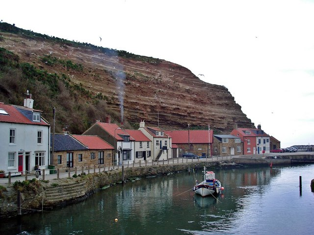 Harbourside cottages, Staithes