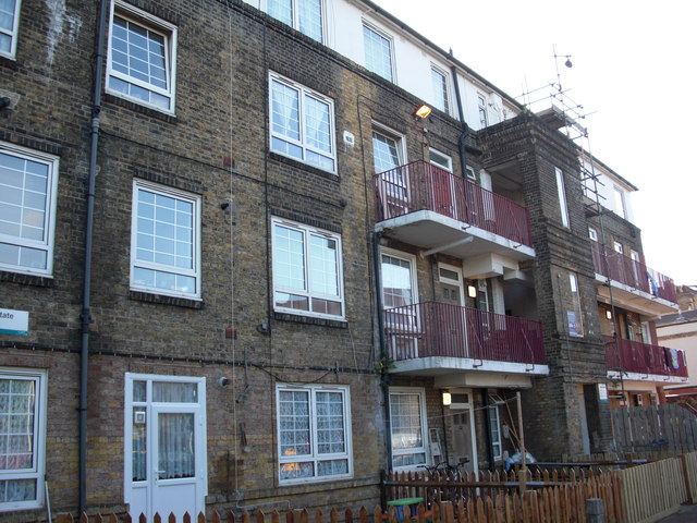 Albion Estate (part), Swan Road, Rotherhithe, London, SE16