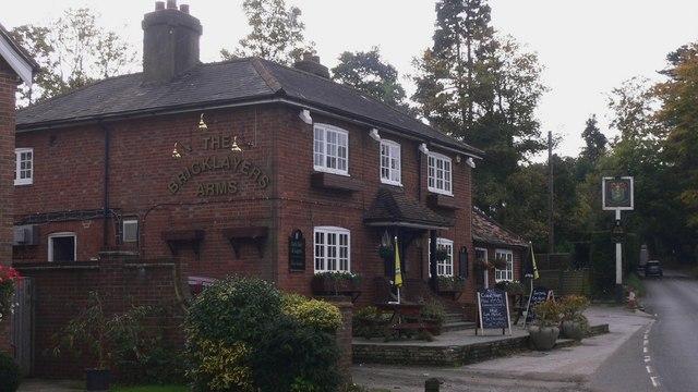 The Bricklayers Arms at Shamley Green