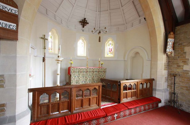 St Mildred, Acol, Kent - Apse