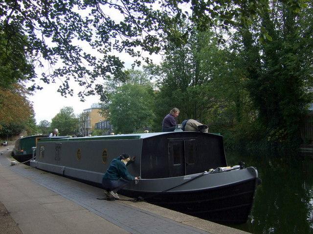 Boat maintenance, Victoria Park