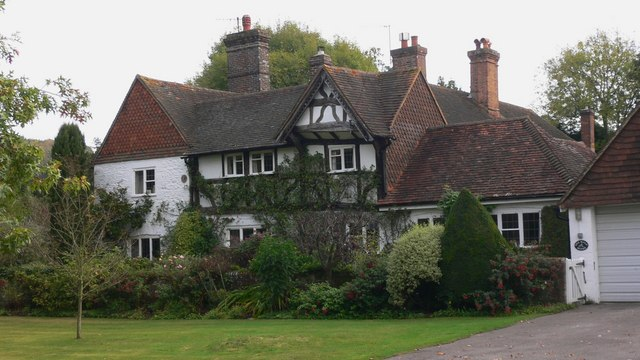 Attractive house at Shamley Green