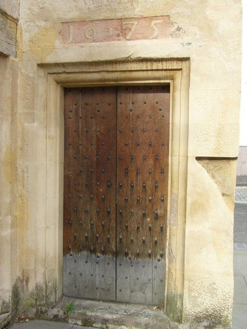 St. Ninian's Manse doorway