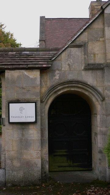 Door at Thursley Lodge