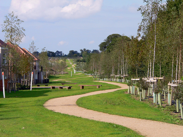 Landscaped Footpath