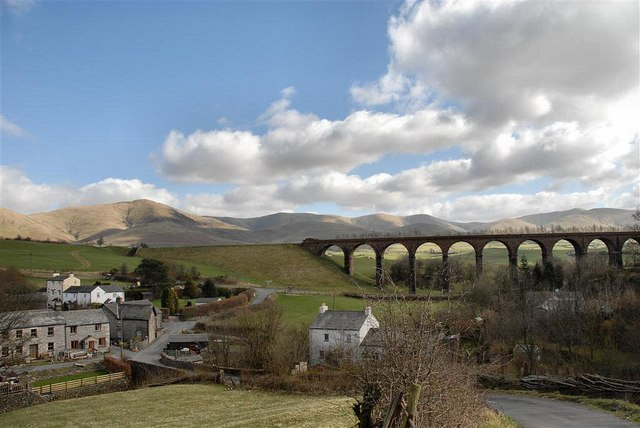 Beckfoot and the viaduct