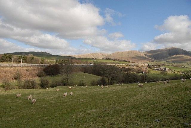 M6 near Lowgill