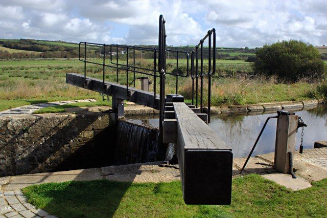 Lock Gate on the Bude Canal