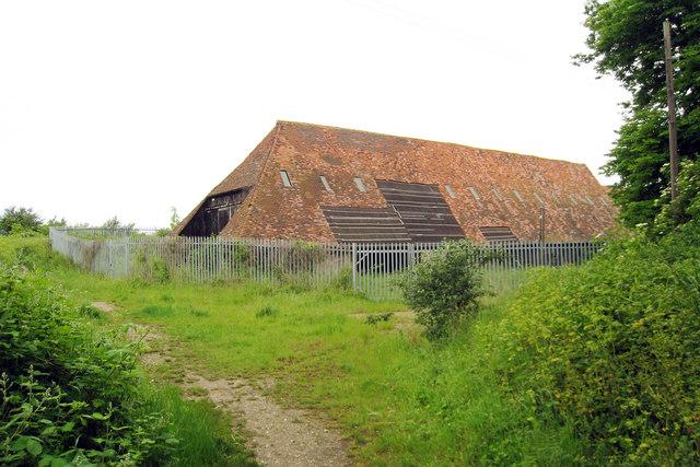 Unconverted Barn at Manor Farm, Frindsbury
