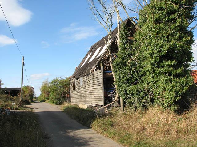 Old barn by Church Farm