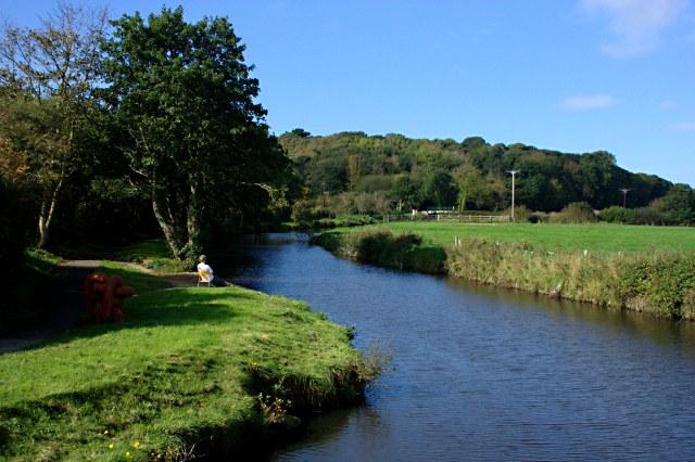 The Bude Canal West of Helebridge
