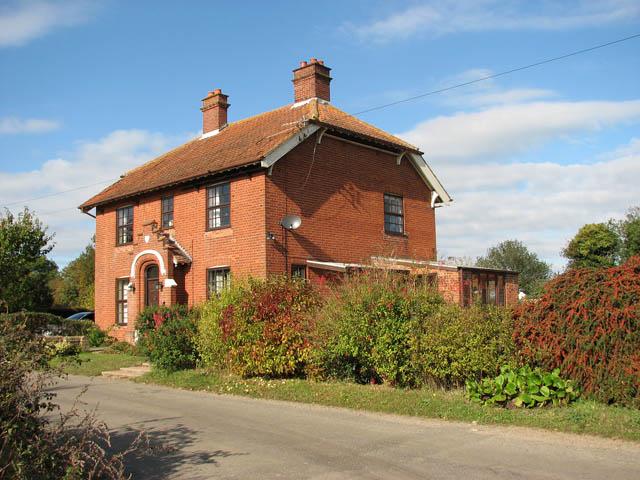 Church Farm - the farmhouse