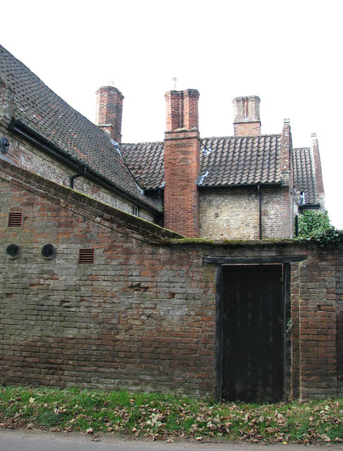 Chimneys at Bergh Aphton Manor