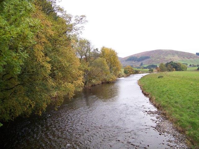 River Tweed At Merlindale Bridge