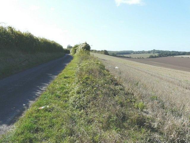 Dismantled  Railway near to Knowlton
