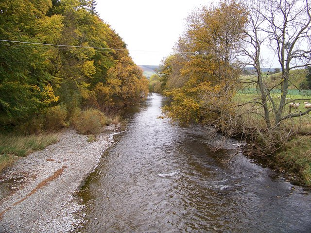 River Tweed At Merlindale Bridge