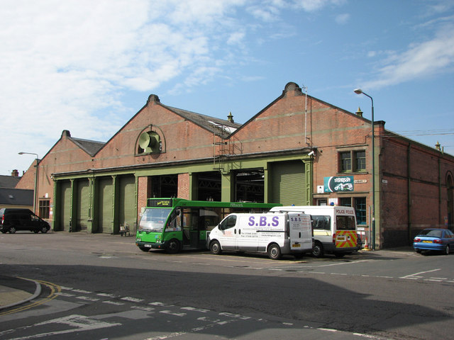 Trent Bridge Bus Depot, Bunbury Street
