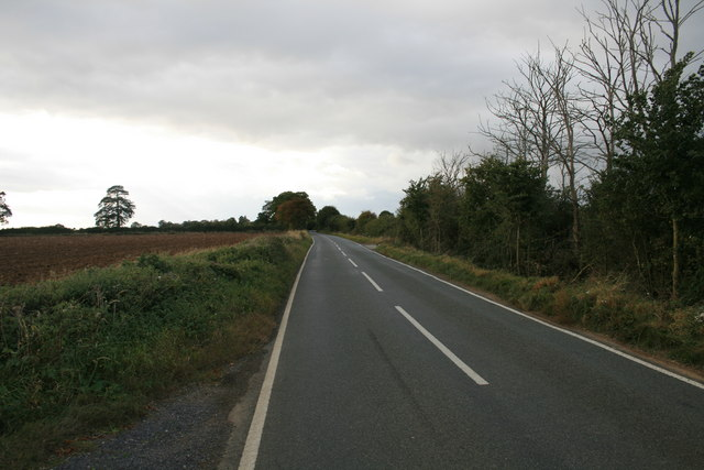 Road from Alvescot to Kencot