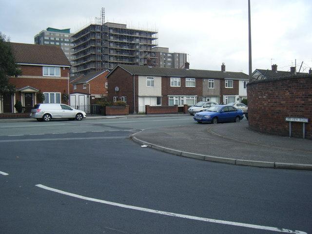 Sea View Road/ Irlam road junction.