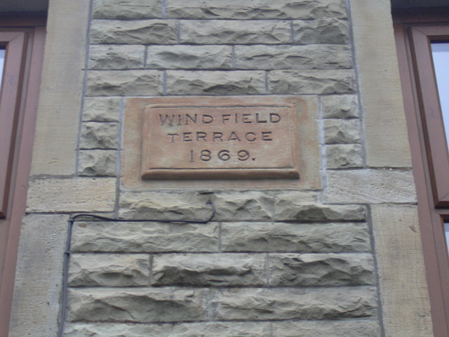 Wind Field Terrace, Grane Road 1869