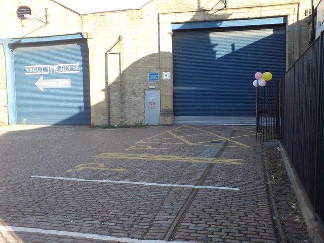Former tramshed, Thornbury, Bradford