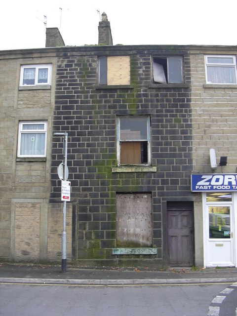 Derelict House, Blackburn Road