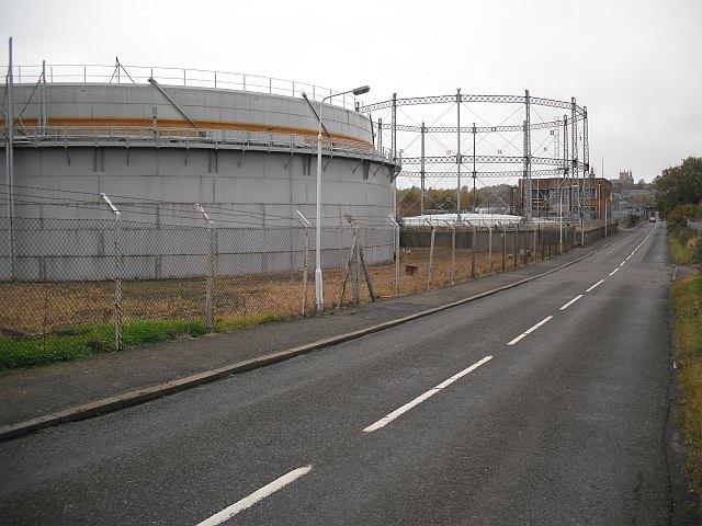 Gasholders, Grange Road
