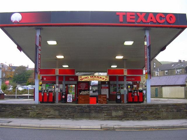 Texaco Petrol Station, Blackburn Road