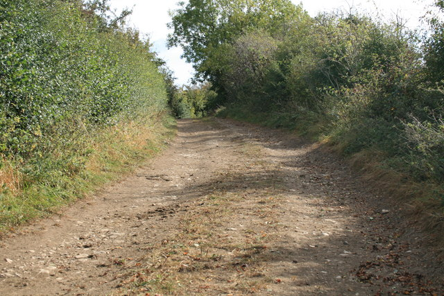 Bridleway over the old railway line