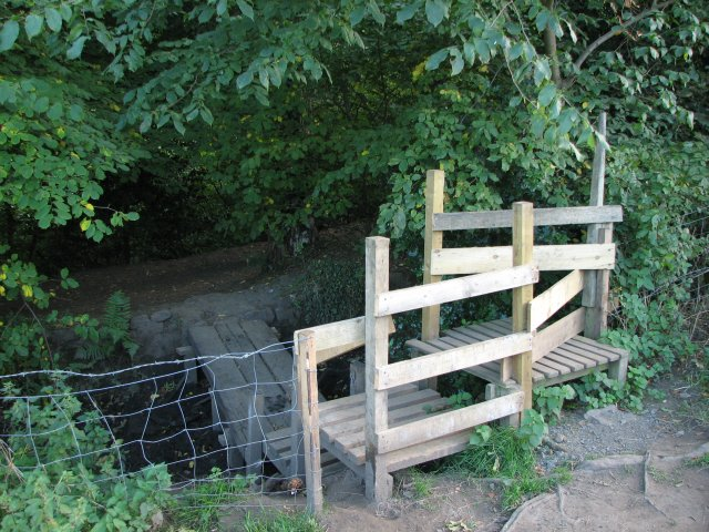 New bridge and stile