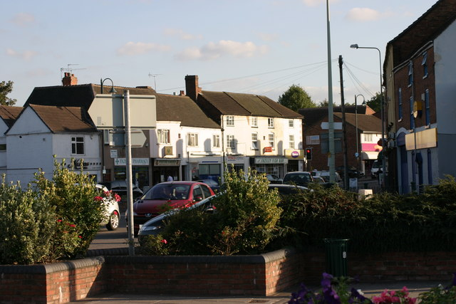 Fazeley, Street scene