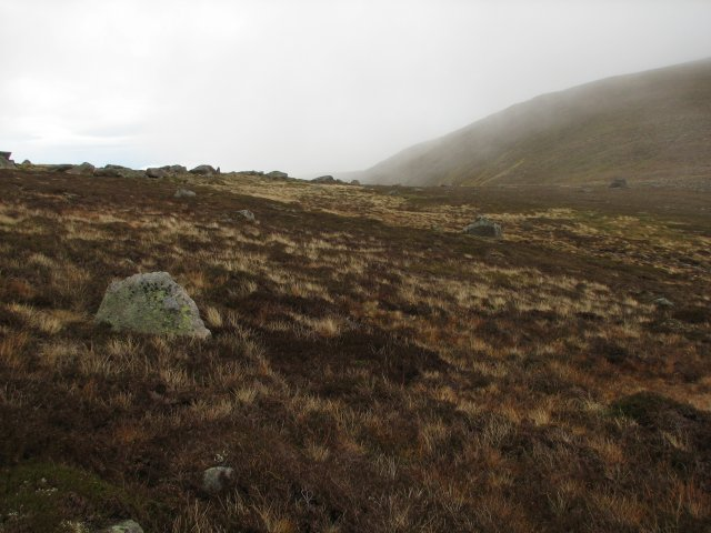 Col between Carn Eas and Creag an Dail Mhòr