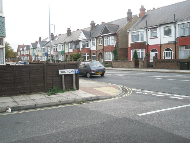 Junction of  Vita  Road and Northern Parade
