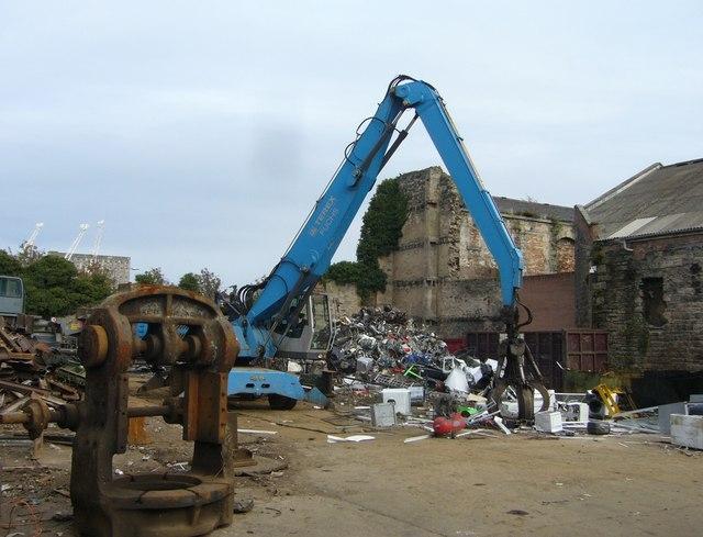 Scrap metal yard, Constitution Street