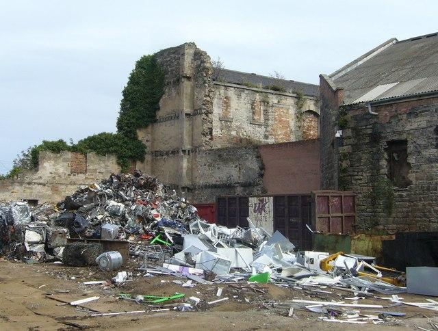 Scrap metal, Constitution Street