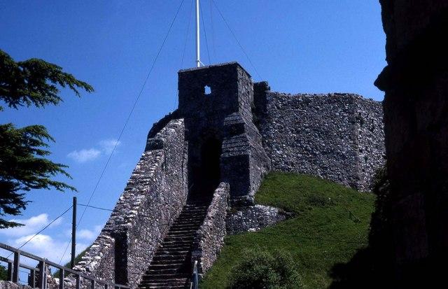 The Keep at Carisbrooke Castle